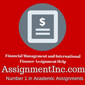 international finance assignment